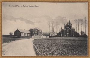 ancienne église Ste Anne Waterloo