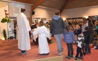 Messe animée par unité Ste Anne 24 Fev 2013
