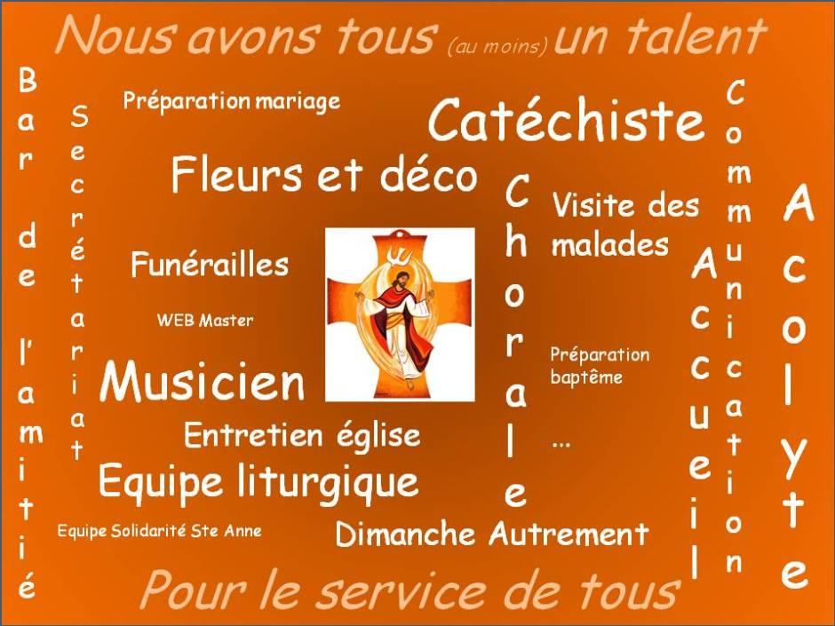 Equipe paroisse Ste Anne