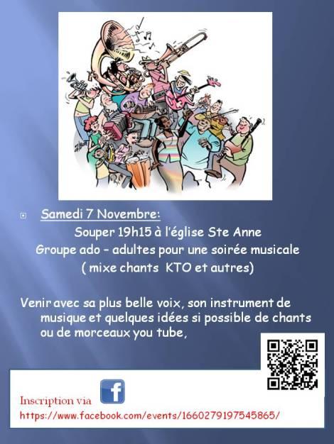Musical 7 Novembre 2015 invitation