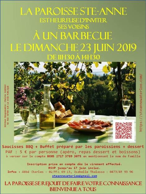 Paroisse Ste Anne BBQ Juin 2019v1